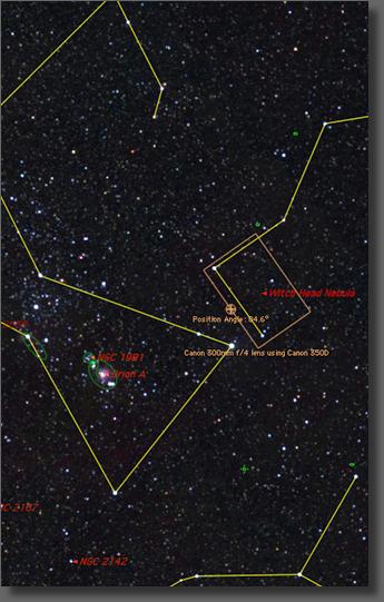 IC 2118 - The Witch Head Nebula